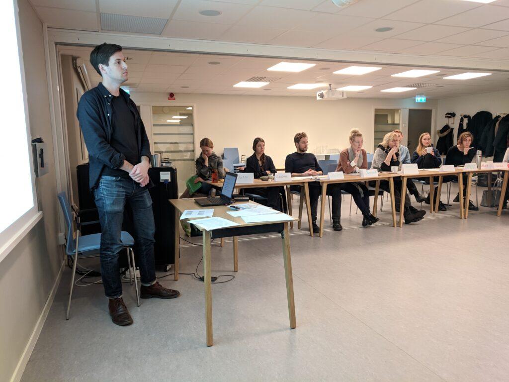 Ola Berge föreläser under pre-core vid Psykiatri Nordväst i januari 2019