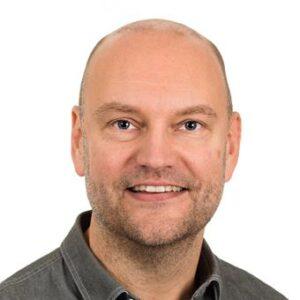 Fredrik Falkenström, en av studiens författare